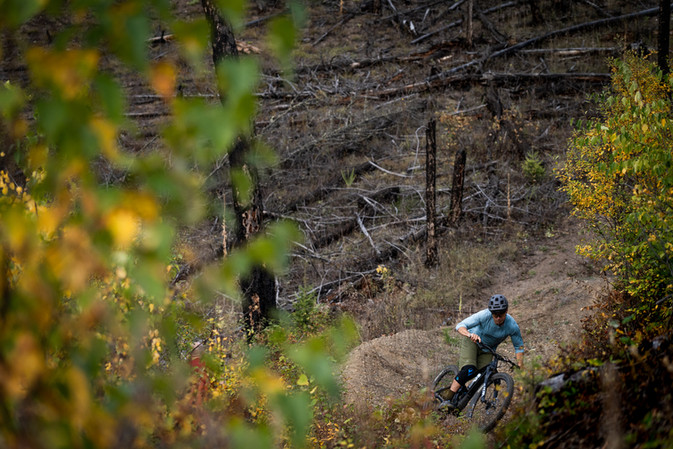Cariboo trail riding