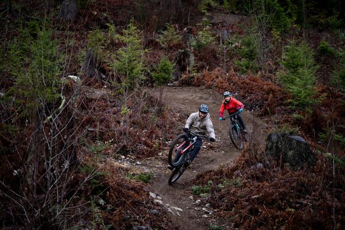 Squamish couple ride