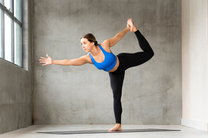 Whistler yoga pose