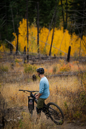 Fall trail riding