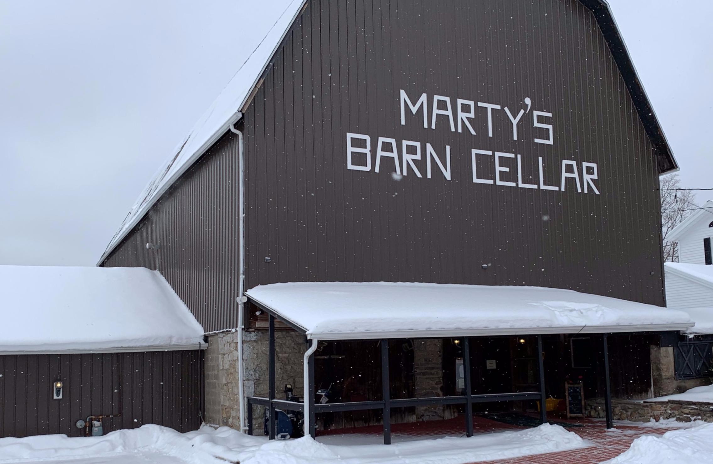 Marty's Barn Cellar