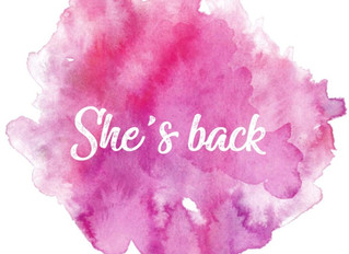 De retour !