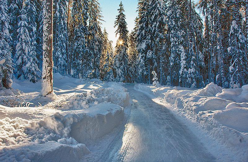 Natureisweg Sur En