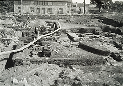 Caerwent Roman Excavations c1900