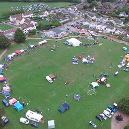 Village Show birds eye view