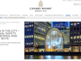 Personal Safety London: Canary Wharf Press Release