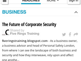 The Future of Corporate Security
