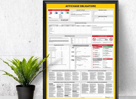 L'affichage obligatoire en entreprise