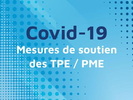 Covid 19 : Les mesures gouvernementales pour soutenir les TPE/PME