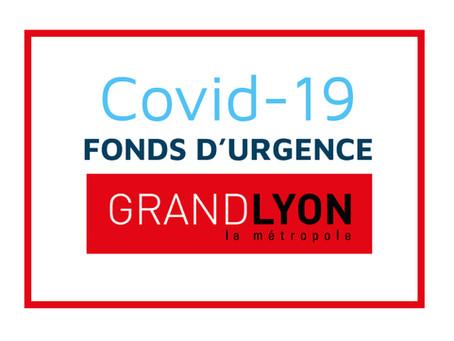 COVID-19 : le Fonds d'urgence de la Métropole de Lyon