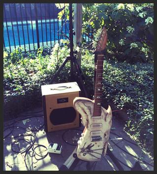 The Whale Guitar: Music Art Wine & Cheese