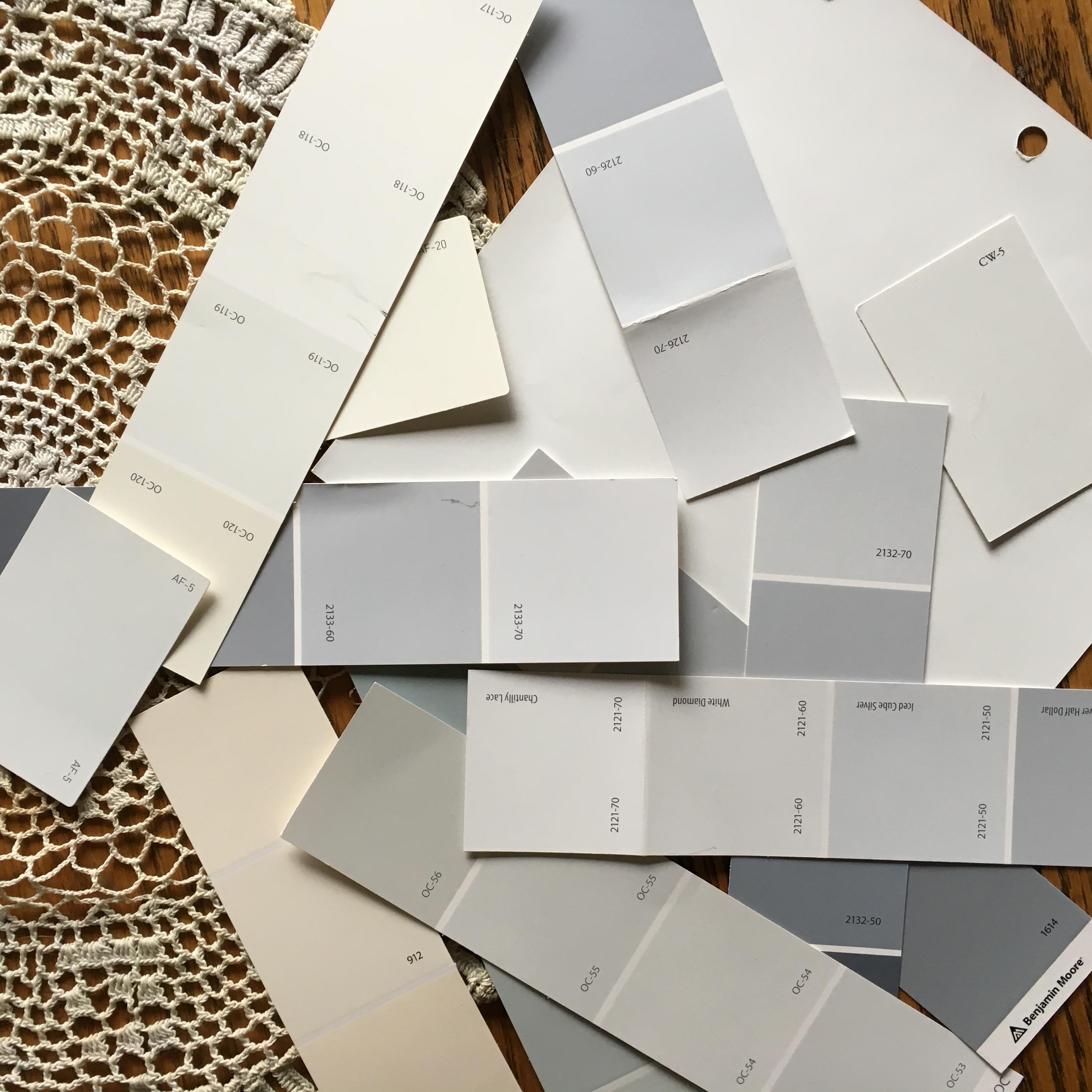 Choosing Whites