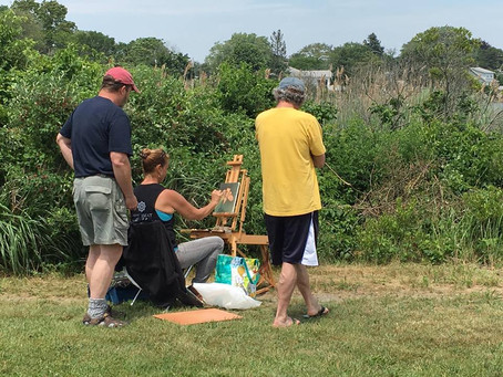 Plein Air Painting in Wickford