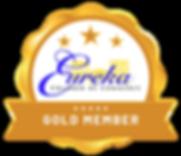 Gold Member Badge - Eureka Chamber of Co