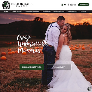 Brookdale Farms Website Created by GROW
