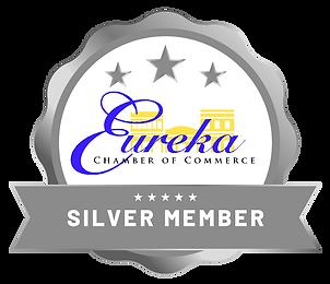 Silver Member Badge - Eureka Chamber of