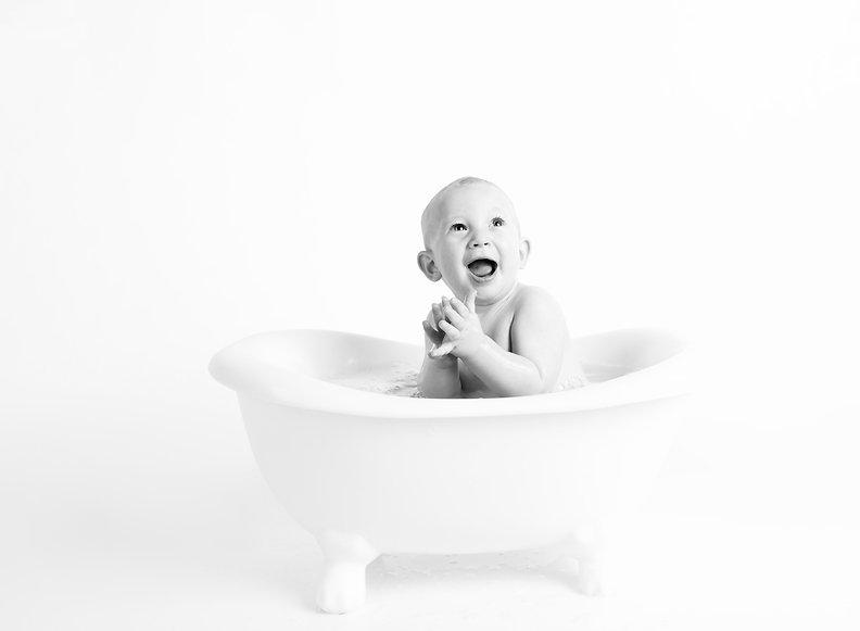 Conférence entreprise - optimisme - bébé - baignoire