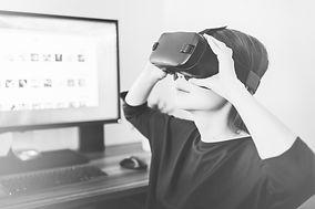Conférence innovation - digitale - casque - VR - enfant