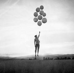 Conférence - conduite du changement - Motivation - Homme - ciel - ballon