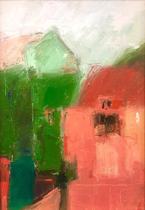 Landscape- Red