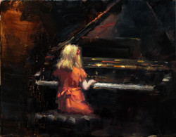 A sweet piano melody