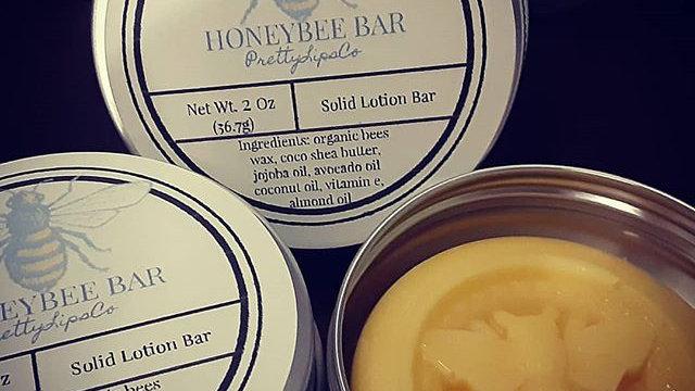 Honey Bee Lotion Bar