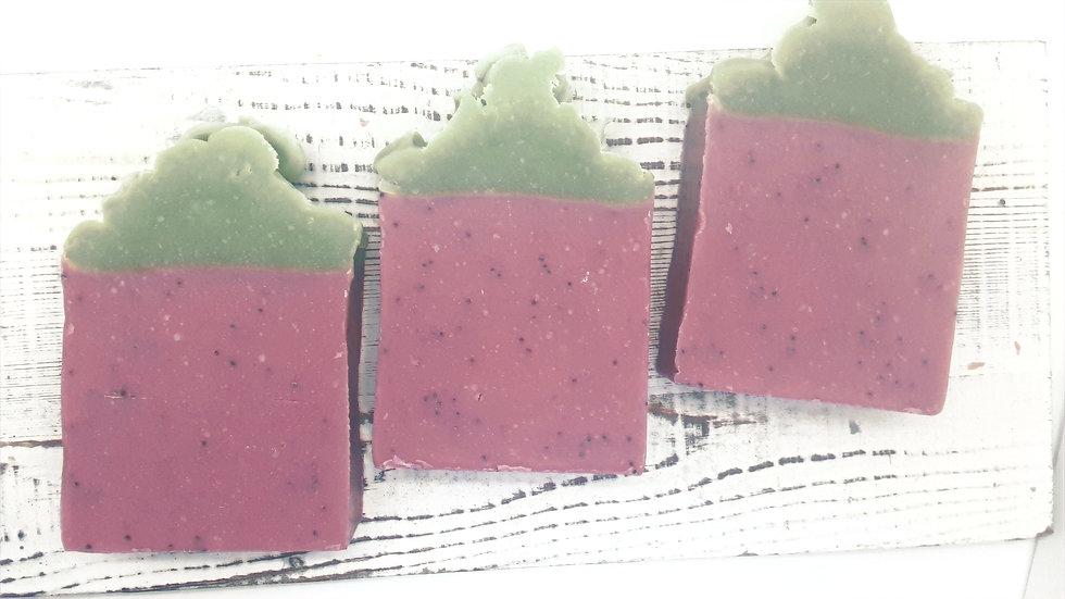 Pomegranate Christmas Soap