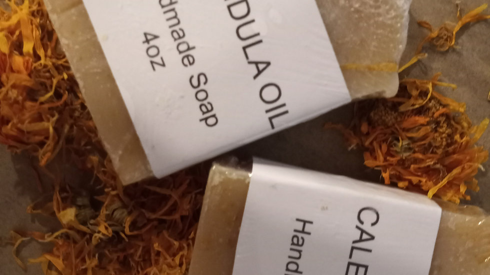 Calendula Oil Handmade Soap