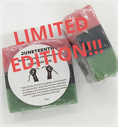 Juneteenth Limited Edition Soaps