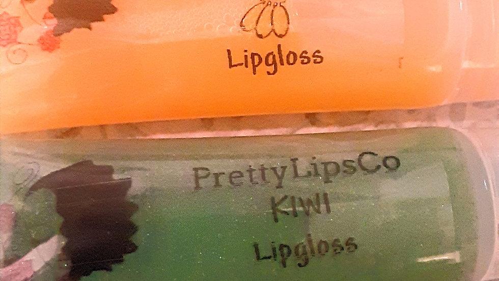 Fruity lip gloss 5 pack for $20