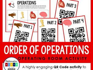 Order of Operations (in & out of the classroom)