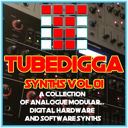 Tubedigga Synths Keygroup Collection