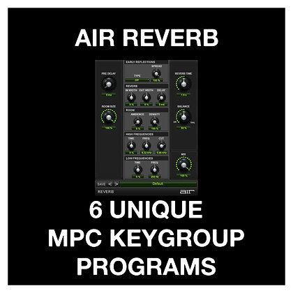 Air Reverb Keygroups