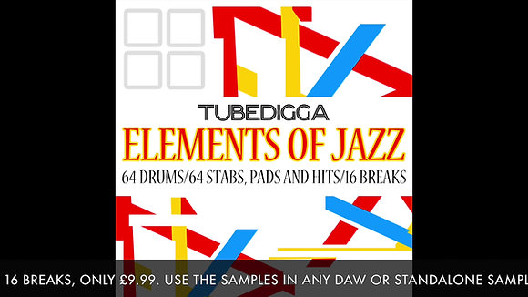 Elements of Jazz Exclusive Sample Collection