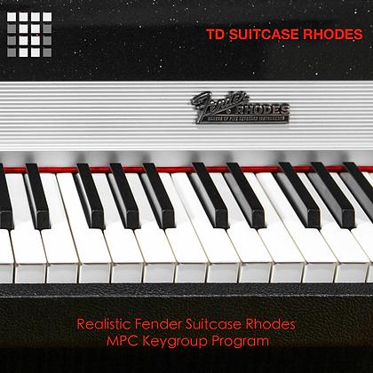TD Suitcase Rhodes MPC Keygroup Program