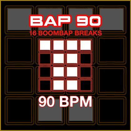 BAP 90 - 16 90BPM Boom Bap Breaks