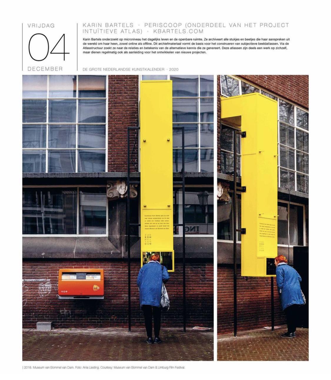 Grote Nederlandse Kunst Kalender 2020