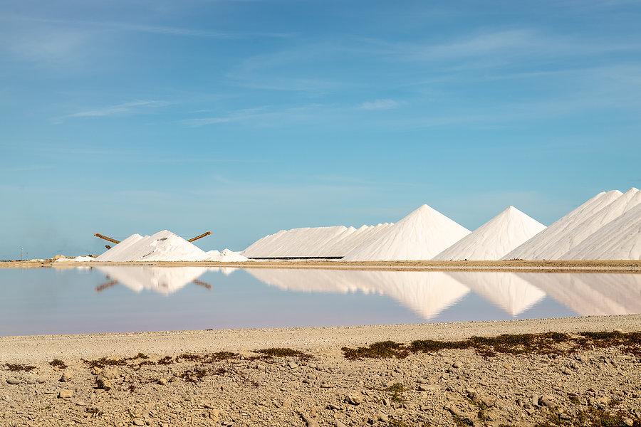Bonaire Salt Pans Zout Pannen True media