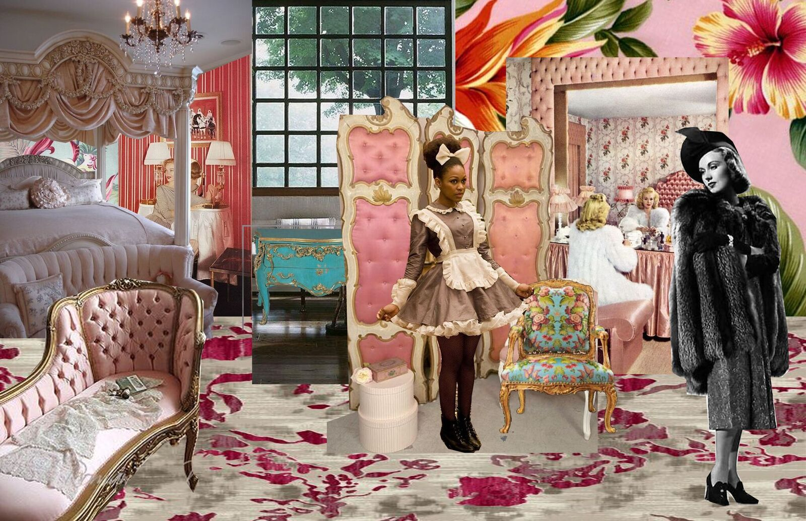 The Maids Set Concept