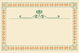 Herbalista - ramme - farger - vintage -