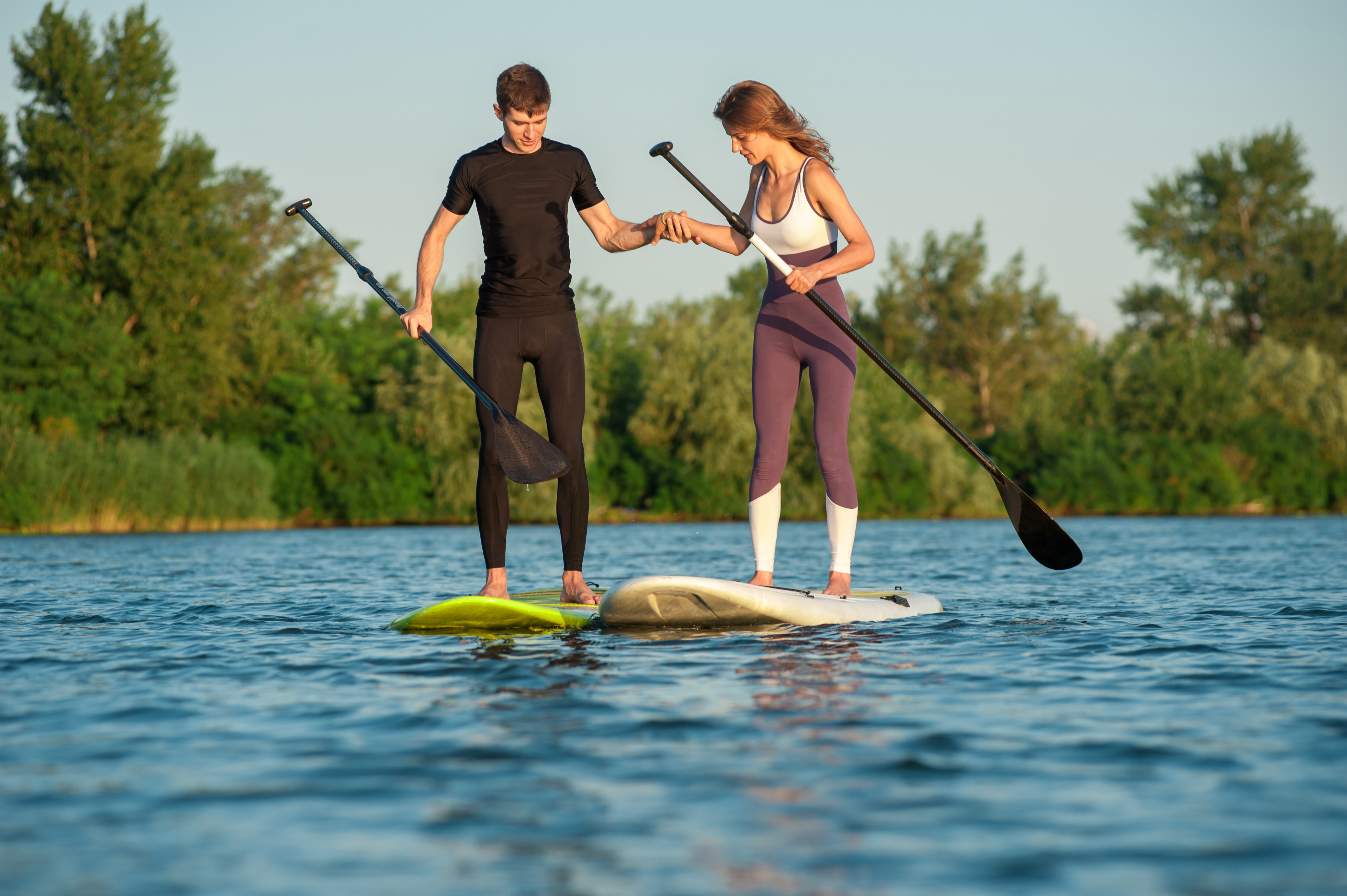2hr Paddle Board Guided River Trip