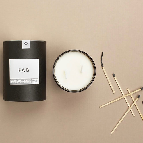 Fig and Pomegranate Candle