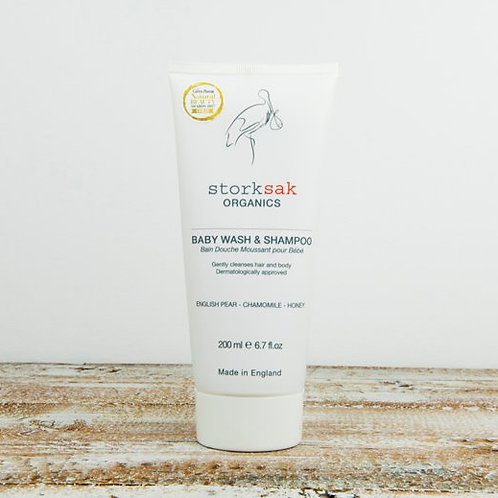 Storksak Organic Baby Wash & Shampoo