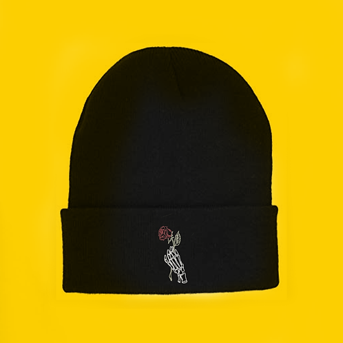 Yellow Rose Beanie