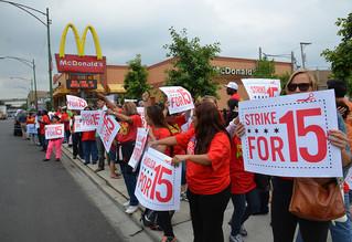 I'm against $15 minimum wage