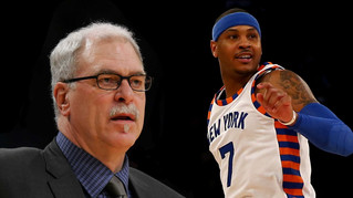 Phil Jackson Vs. Melo one for the ages