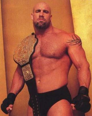 I'm against Goldberg being WWE champion