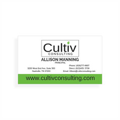 AMWA Business Cards Design