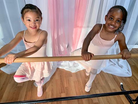 broadway babies on ballet bar.jpg