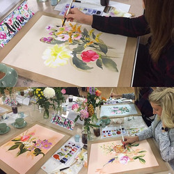 A taste of today's workshop in Marlow. The afternoon just flew and there was gorgeous work produced.
